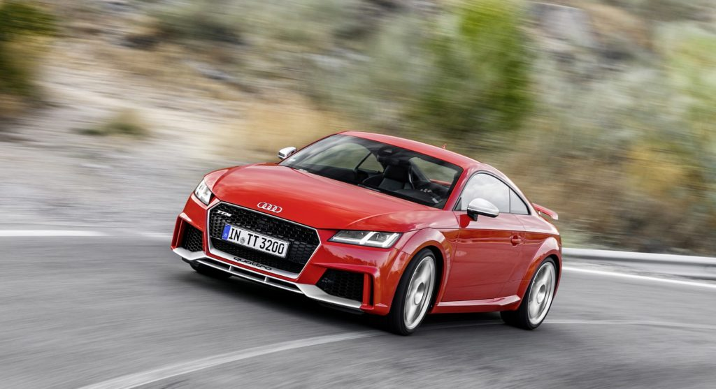 The All New Audi TT RS Is Built For Demanding Drivers Who Appreciate  Challenging Roads. Floor The Throttle And Feel This 400 HP Coupe Explode  From 0 100 ...