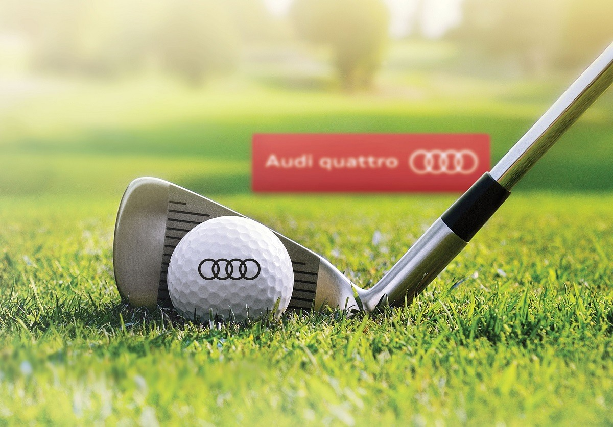 Get on the green with Audi