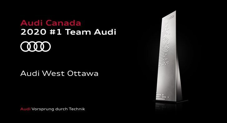 Why Buy from Audi West Ottawa